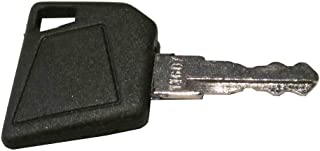 Ignition Key for Bobcat, Bomag, Caterpillar, Dynapac, Ford, Gehl, Hamm, Hang, JCB, Moxy, New Holland, Rayco, Sky Trak, Terex, Vibromax, Volvo, Part Number 14607