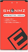 (Upgraded) 4500 mAh SHENMZ Replacement Battery for Novatel Jetpack MiFi 7730L Mobile Hotspot P/N: 40123117