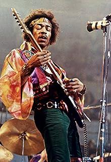 Jimi Hendrix Poster, Live in Concert