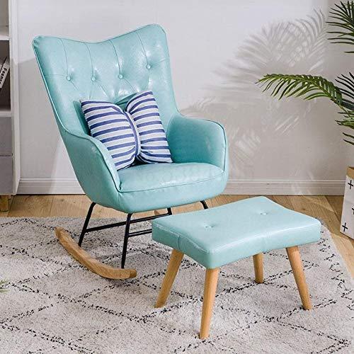 Stoel LKU Balkon schommelstoel creëert Scandinavische Italiaanse rode vrijetijdsstoel Taishi stoel thuis klein appartement, L.