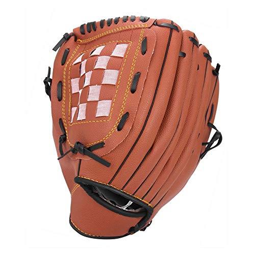 AQD Baseballhandschuh Softballhandschuhe - Rechtshänder - Erwachsenen- und Jugendgrößen - Größe 32 cm - Einfacher Einstieg in den Baseballhandschuh10.5