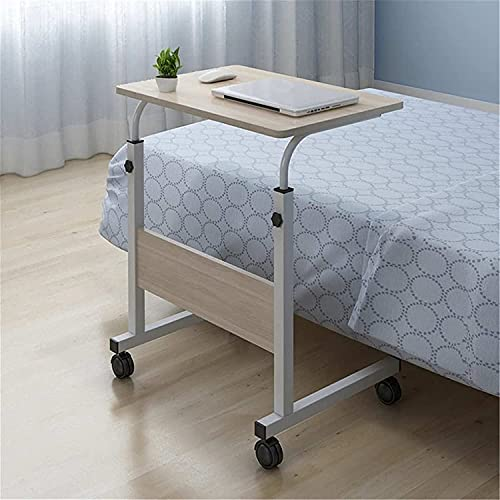 End Table Side Table Portable Overbed/Chair Table Laptop Table Can Be Lifted Standing Deskheight Adjustable For Small Spaces Sofa Couch Bedside