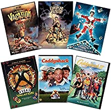 Ultimate Chevy Chase 6-Movie DVD Collection: National Lampoon's Vacation / European Vacation / Christmas Vacation / Vegas Vacation / Caddyshack / Caddyshack 2