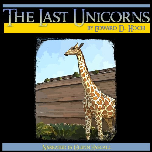 The Last Unicorns audiobook cover art