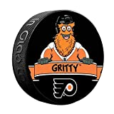 Sherwood Philadelphia Flyers Gritty Mascot NHL Souvenir Puck -