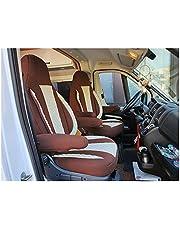 Maat stoelhoezen compatibel met FIAT Ducato type 250 bestuurder & passagier vanaf 2006 - 2022 PL411