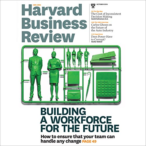 Harvard Business Review, October 2016 audiobook cover art