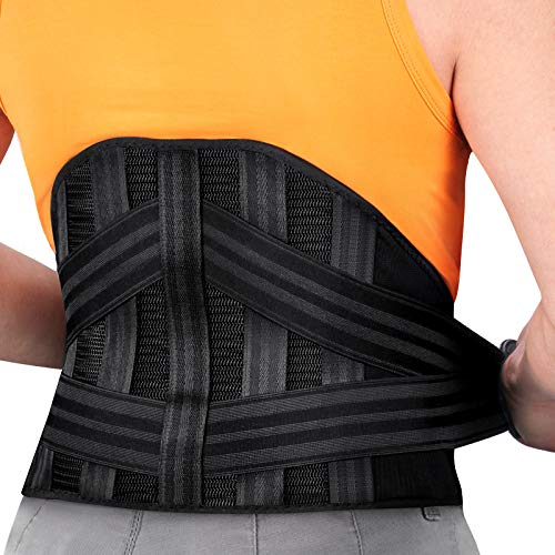 Mercase Back Braces Lumbar Support Belt for Lower Back Pain Relief,...