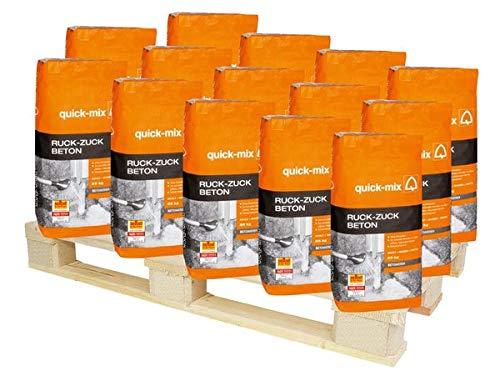 quick-mix RZB Ruck-Zuck-Beton 1150 kg - schnell erhärtend für Innen & Außen - Ohne anmischen Qualität & Sicher