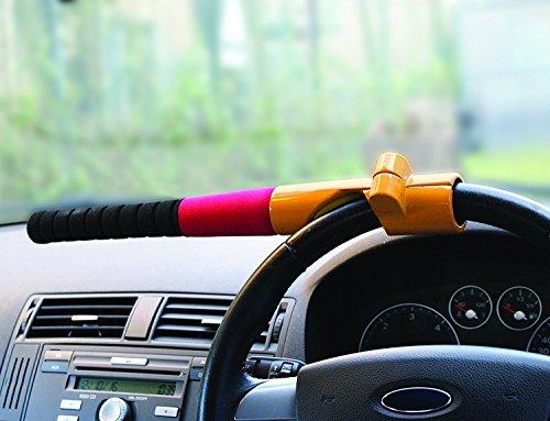 Streetwize SWBBL Baseball Bat Steering Wheel Lock - Yellow