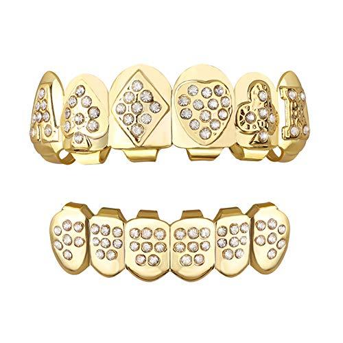 TSANLY Jungen gold grillz zähne set new custom fit 24k plaqué cruz diamanten grillz - ausgezeichnete cut