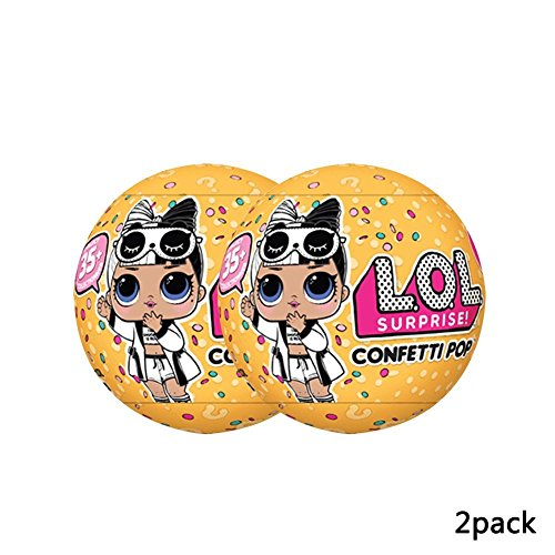 L.O.L. Surprise Confetti Pop Series 3 Wave 2 Bundle Of 2 Dolls