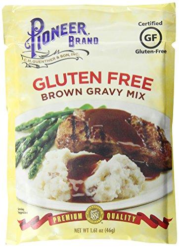 Pioneer Brand Gluten-Free Gravy Mix, Brown, 1.61 Ounce