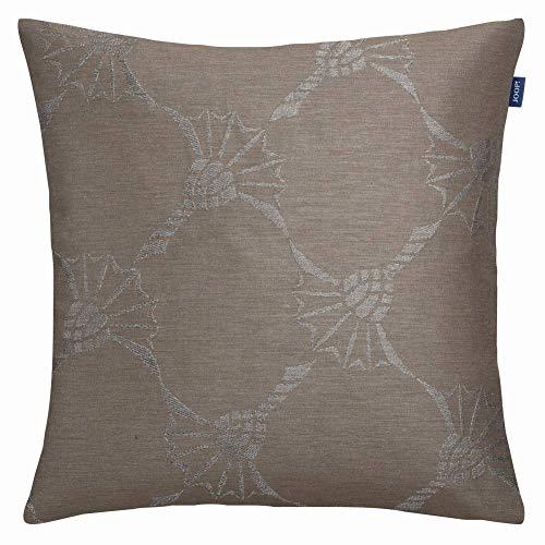 Joop! Living - Federa per cuscino senza imbottitura, rifrangente, colore tortora, dimensioni 40 x 40 cm, chiusura lampo nascosta, colore: Cornflower