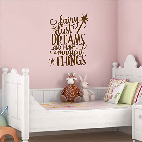 Amazon Com Fairy Dust Dreams And Many Magical Things Vinyl Wall Decal Sticker Graphic Handmade