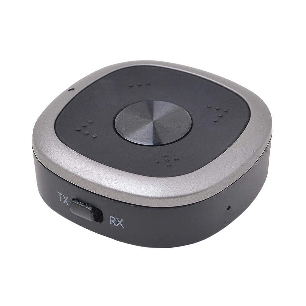 車両またはバケットBluetooth トランスミッター&レシーバー 15時間連続運転 内蔵MIC Bluetooth5.0 低遅延 光デジタル接続 送信受信両用