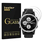 VGUARD [4 Unidades] Protector de Pantalla para Garmin Fenix 5S Plus Smartwatch, Cristal Vidrio Templado Premium para Garmin Fenix 5S Plus Smartwatch