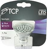 TCP GU10 2 W luz de ambiente LED 1 Ideal sin los costes de funcionamiento de bombillas incandescentes tradicional, azul