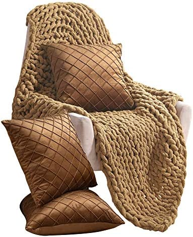 Life Tools Chunky Throw Blanket Warm Knot Blanket for Sofa Chair and Bed 50x60in Ultra Soft product image