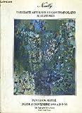 NEUILLY TABLEAUX ABSTRAITS ET COMTEMPORAINS SCULPTURES - PAVILLON ROYAL - JEUDI 15 NOVEMBRE 1990.