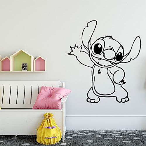 Creative cartoon wall stickers modern art wall decorations living room children's room wall decals 42X46cm