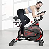 FANLIU Start Weight Loss Exercise Fahrrad-Übungs-Pedal Bike Upright Heimtrainer Indoor Studio Cycles Aerobic-Training