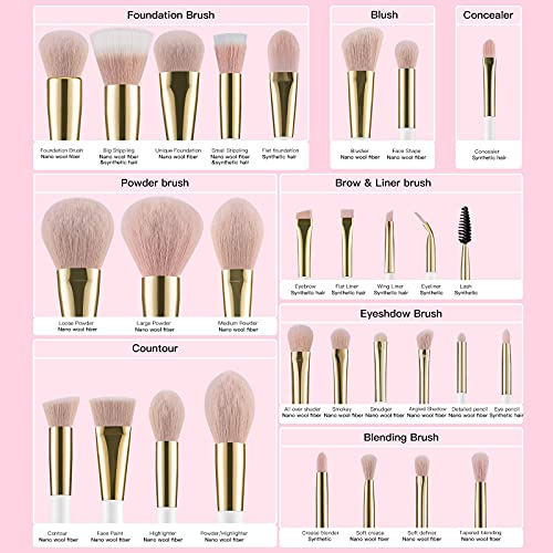 40 piece makeup brush set _image4