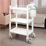 XINGZHE Einkaufskorb aus PVC, elegant, multifunktional, abnehmbar, mit Schubladenwagen, 2 Farben erhältlich weiß