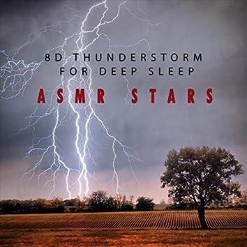 8D Thunderstorm for Deep Sleep