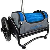 MVP Disc Sports Rover Cart + Royal Nucleus Disc Golf Bag