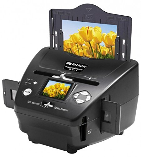 Purchase Braun NovoScan 3-in-1 Scanner for Film and Photos, 1800x1800dpi Optical Resolution