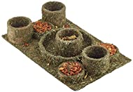 Rosewood Naturals Hide N Treat Maze Boredom Breaker Chew Toy and Treats, transparent