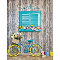 HZDXT 5Dダイヤモンド絵画ランドスケープキットラインストーンのフルスクエア自転車の写真クロスステッチビーズ刺繡家の装飾40X50Cm