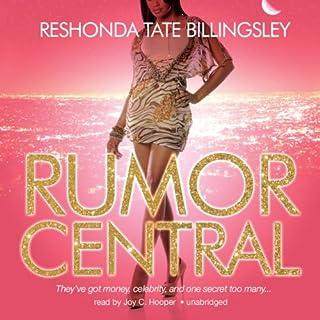 Rumor Central audiobook cover art