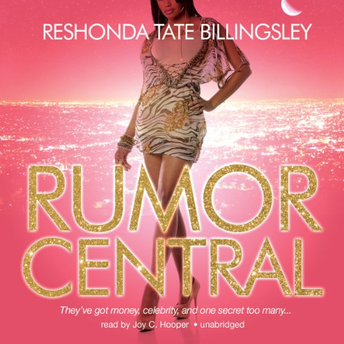 Rumor Central audiobook cover art