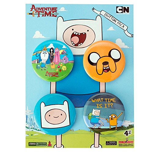Adventure Time 4-Piece broches Pack