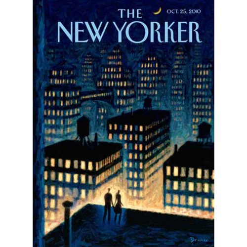 The New Yorker, October 25th 2010 (Lauren Collins, Ian Frazier, David Means) Titelbild