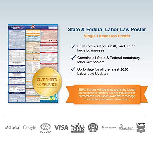 2017 Nevada (Spanish) Labor Law Poster – State & Federal Compliant – Laminated Photo #4