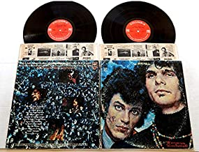 THE LIVE ADVENTURES OF MIKE BLOOMFIELD AND AL KOOPER - Columbia Records 1969 - USED DOUBLE Vinyl LP Record Album - 1969 Pressing KGP 6 - With Carlos Santana & Elvin Bishop too! - 14 Blues Performances