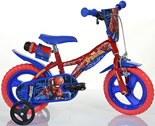Cicli Puzone Bici 12 Spiderman Dino Bikes 123 GLN-SA Nuovo Modello