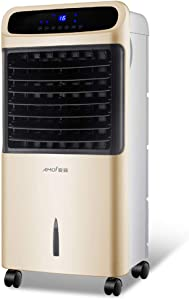 4-in-1 Portable Air Conditioner with Cooling, Heating, Humidification and Purification Function, 3 Fan Speeds, Remote Control and 7.5 Hour Programmable Timer