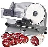 DMS Allesschneider aus Metall | Brotschneidemaschine | Wurst- und Fleischschneider | Aufschnittmaschine |