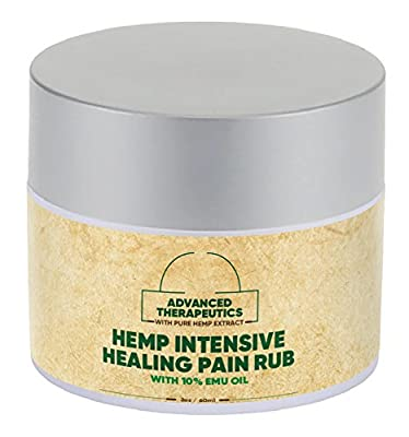 Pure Hemp Oil Combined with PURE EMU HEMP CREAM for FAST Arthritis Relief. Alleviate KNEE PAIN,BACK PAIN, SHOULDER PAIN and Hip P from Advanced Therapeutics Inc