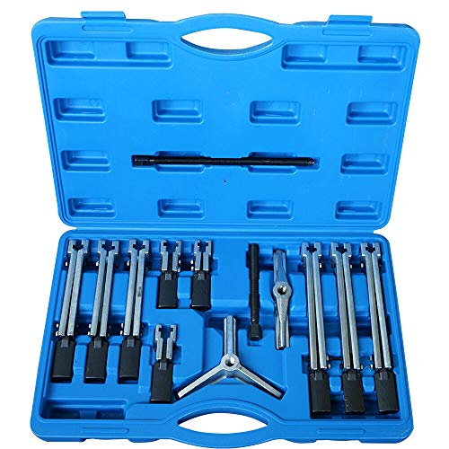 HaroldDol Lagerabzieher Getriebe Extractor Remover Set universal 13PCs 2+3 armig Innen & Aussen Abzieher Kit