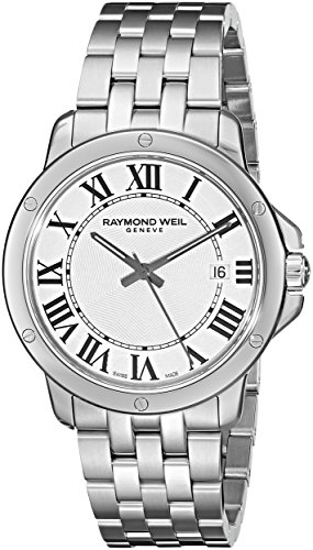Raymond Weil Men's 5591-ST-00300 Tango Analog Display Swiss Quartz Silver Watch