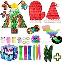 スクイーズ玩具 ストレス解消グッズ 減圧おもちゃ プッシュポップバブル フィジェットおもちゃ インテリジェンス発展 知育おもちゃ そわそわおもちゃ 自閉症特別支援 ボードゲーム 子供 大人兼用 カラフル プレゼント クリスマスプレゼント (B)