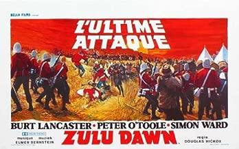 Zulu Dawn Movie Poster (27 x 40 Inches - 69cm x 102cm) (1980) Belgian -(Burt Lancaster)(Peter O'Toole)(Denholm Elliott)(Nigel Davenport)(John Mills)(Simon Ward)