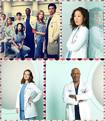 9-HOFC8C Greys Anatomy Season 10 35cm x 41cm,14inch x 16inch Silk Print Poster
