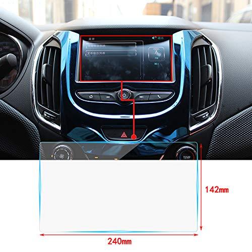 Protecteur d'Ecran en Verre trempé 10.2 Pouces pour Le système de Navigation de voiturev, [Couverture Complète] [Dureté 9H] [HD Clear] [Anti-Rayures] 240×142mm