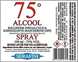 Zoom IMG-2 alcool alimentare 75 gradi igienizzante